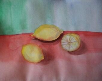 Three mouth-watering lemon