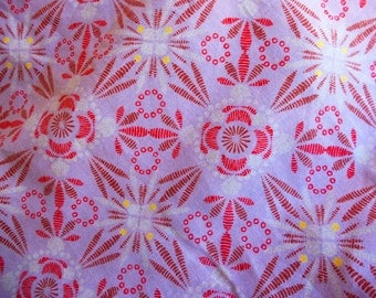 Cotton Print Fabric by the Yard, Printed Cotton Voile Fabric Yardage, Fabric by the Yard, Yardage