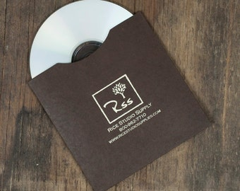 PERSONALIZED CD SLEEVES  ( 100 pieces )