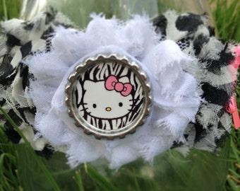 Hello kitty zebra style