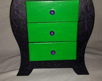Miniature Halloween Dresser