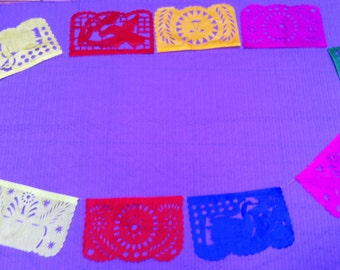 Mexican Fiesta - Party - Papel Picado Banners - 5 Mayo Party - Fiesta