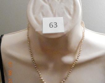 "Vintage 18"" Pearl Strand Understated Elegance!! 346"