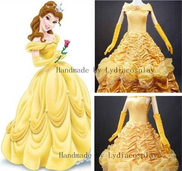 Belle Princess Dress  Costume Pattern and Tutorial