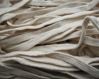 8mm 5Meters Cream Cotton Ropes Cotton String Findings