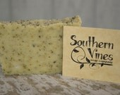 Peppermint Bath Soap - handmade - natural - rustic - bath soap