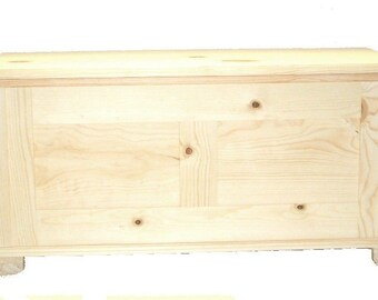 Pine Hope Chest, Unfinished