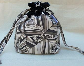 Webbed Knitting Project Bag