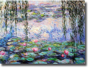 "Claude Monet ""Water lilies"" - reproduction paintings"