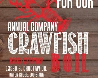 crawfish boil shower