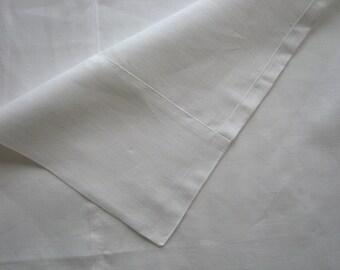 Linen Flat Sheet White Natural 100% Pure Flax European Bedding Twin X-Long Full Double Queen King Kalifornia USA size