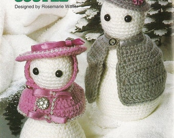Popular items for crochet de bonhomme de neige on etsy - Bonhomme de neige au crochet ...