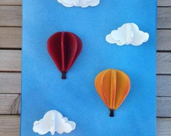 Sky's the Limit - 3D Balloon Wall Art