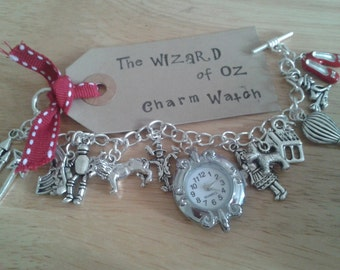 Wizard of Oz inspired Charm Bracelet Watch