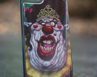 Clown Queen  Iphone SE 5/5S  TPU Case/Cover