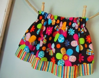 Twirl Skirt - Retro Flowers/Hippie Chic