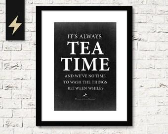 alice, alice in wonderland, quote, quotw, swam, tea, teacup, way, wonderland
