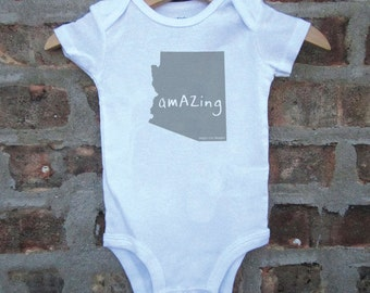 arizona baby clothing, arizona baby gift, arizona love, arizona shower gift, baby neutral, free ship