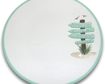 This Way to the Beach Wedding Signature Platter