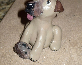 Get A Custom Clay Sculpture of your Dog
