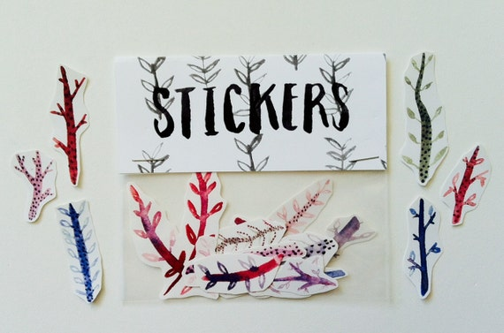 Twig stickers