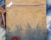 Ai and Kaki cotton bag