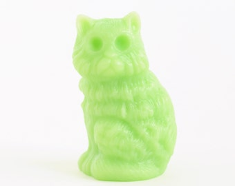 Zombie Cat Soap | Vegetable Glycerin | White or Slime Green