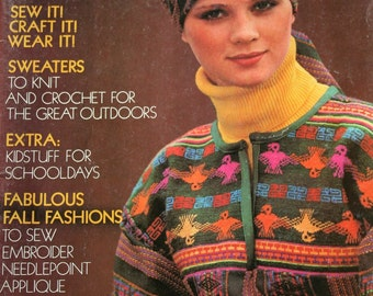 Mon tricot stitch dictionary 1300 pattern stitches knitting sewing patterns knitting crochet mccalls fashion creative clothes vol iii sweater dress jacket poncho vintage paper fandeluxe Image collections