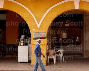 Cartagena photo,Fine Art Photography,Color Prints,travel photography, Documentary photo, Gallery Prints, Cartegena Plaza Print, Colombia