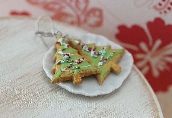 Christmas Tree Cookie Earrings - Christmas Specials