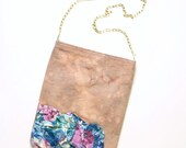 no. 559 - hand dyed cross body shoulder purse