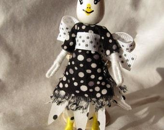 Miniature Easter Egg Head Doll