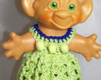 Lime Dress - 5.5 Inch TROLL OUTFIT