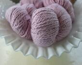 Misti Cotton Silk yarn Strawberry Ice #0043 Destash