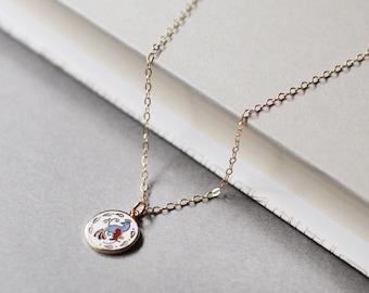 little bird - dutch pendant necklace