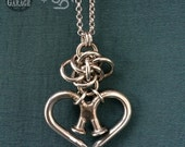 Unbreakable Heart with Persephone Knot - SPG collaboration Featuring Nailmaille ®