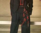 RESERVED LISTING Vintage Vogue 1448 Paris Original Yves Saint Laurent Jacket Pants and Blouse Sewing Pattern Size 14 Uncut