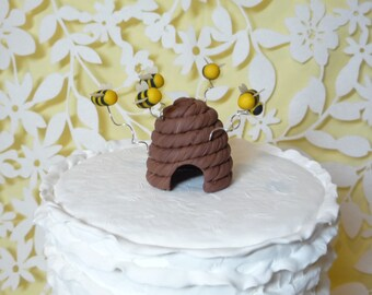 Beehive Cake Topper