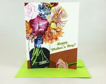 Summer Blossoms Mother's Day Card