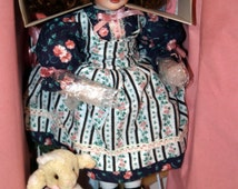 """Paradise Galleries """"Mary Had a Little Lamb"""" Musical Doll Premier Edition including COA"""