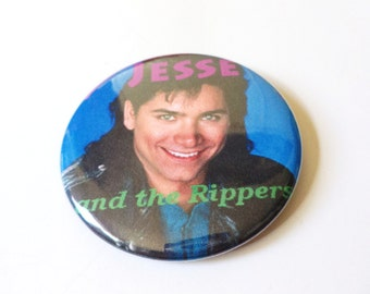 Jesse and the Rippers Full House Pinback Button OR Magnet -- 2.25 inch