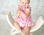 Flower Sugar Baby Romper