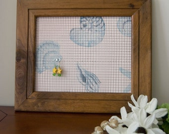 Beach Style Earring Holder Frame