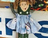 fiber art doll girlfriend gift