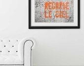 """Paris Print, """"Regarde le Ciel"""" Extra Large Wall Art, Paris Photography Art Print, Oversized Art, Fine Art Photography Paris Decor"""