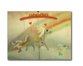 Postcard Set - Rupydetequila Whimsical Illustrations