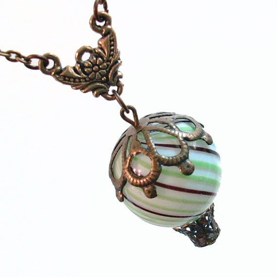 Hot Air Balloon Pendant Necklace Jewelry Jewellery - State Fair