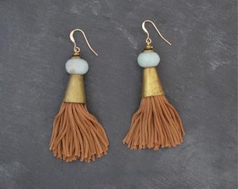 Tangiers Tassel Earrings