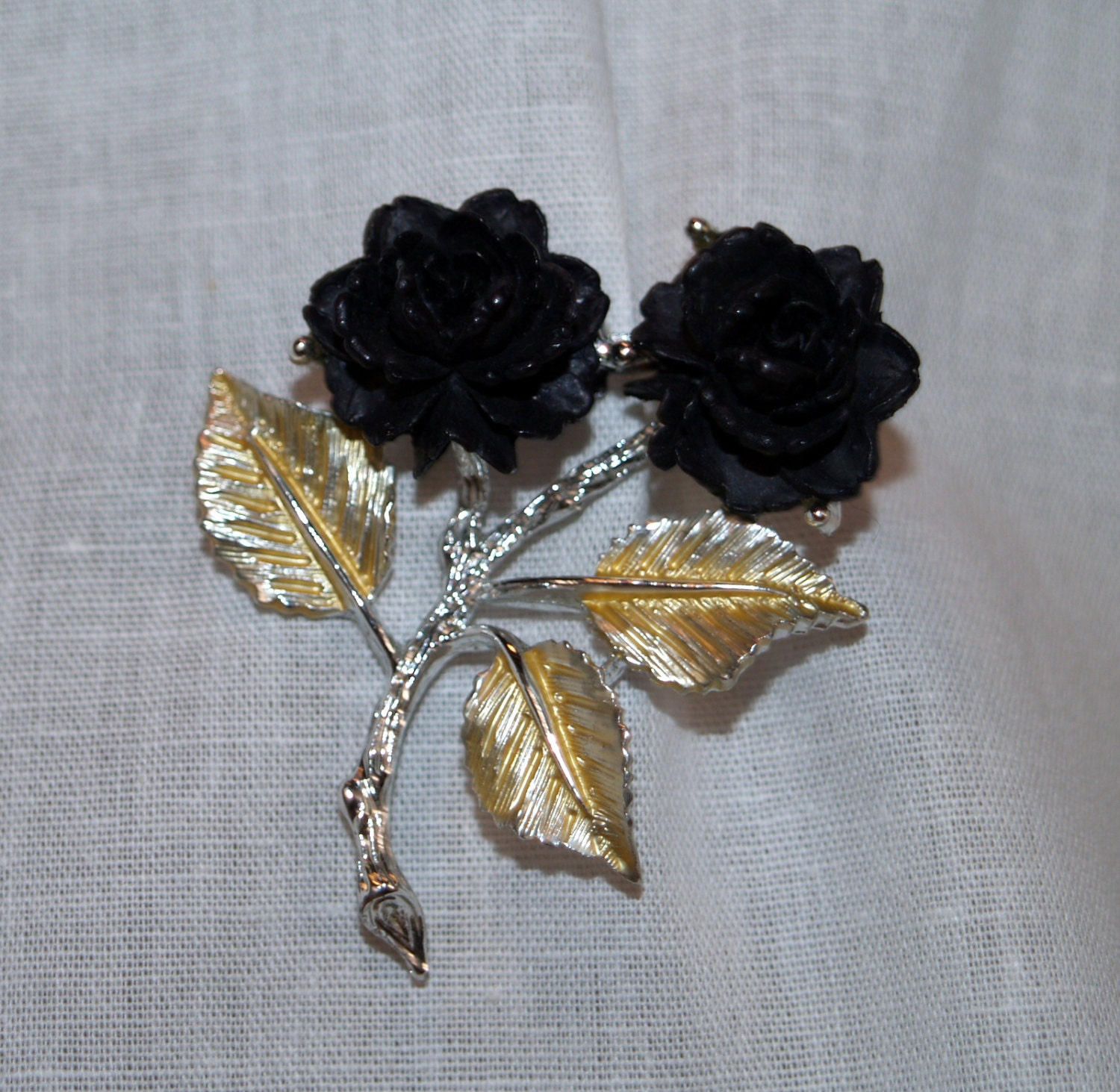 vintage gerry s jewelry gold tone brooch pin by abetterplace