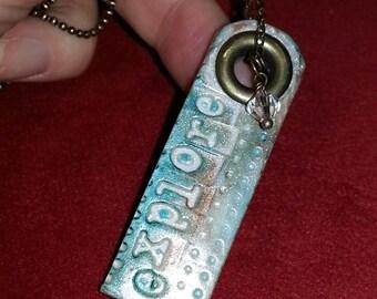Pearl Inspiration Necklace: explore